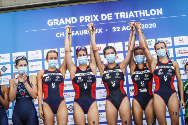 Championnat de France des Clubs de Division 2 de Triathlon 2020 - Châteauroux