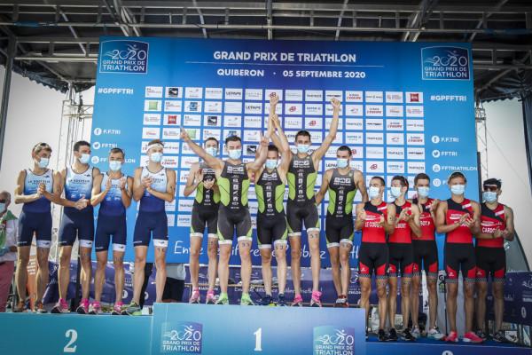 Championnat de France des Clubs de Division 2 de Triathlon 2020 - Quiberon