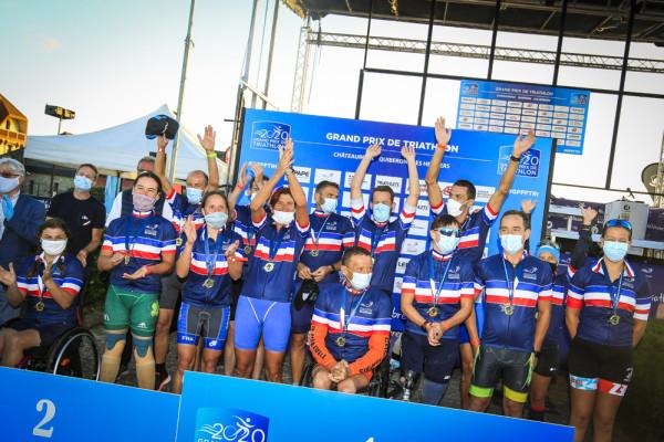 Championnat de France de Paratriathlon 2020