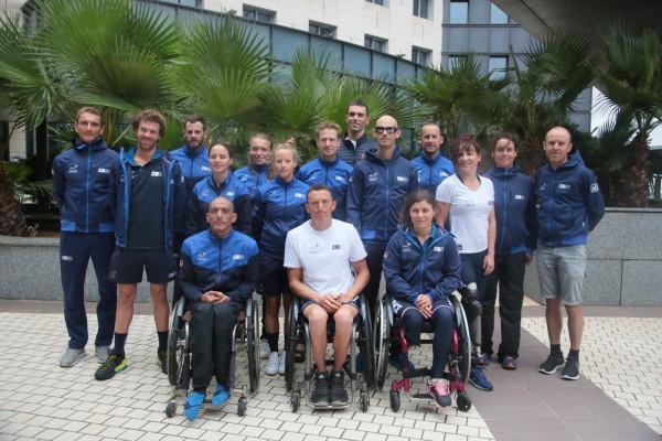 Championnat d'Europe de Paratriathlon 2019