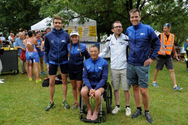 World Paratriathlon Cup Besançon 2018
